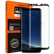 Spigen GLAS.tR FC Black Samsung Galaxy S8 - Ochranné sklo