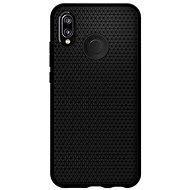Spigen Liquid Air Black Huawei P20 Lite - Kryt na mobil