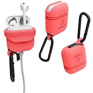 Catalyst Waterproof Case Coral AirPods - Ochranné puzdro