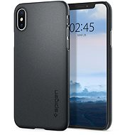 Spigen Thin Fit Graphite Gray iPhone XS/X - Ochranný kryt