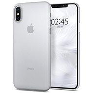 Spigen Air Skin Clear iPhone XS/X - Kryt na mobil