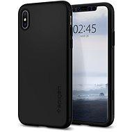 Spigen Thin Fit 360 Black iPhone XS/X - Kryt na mobil