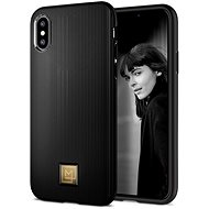 Spigen La Manon Classy Black iPhone XS/X - Ochranný kryt