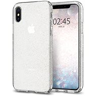 Spigen Liquid Crystal Glitter Crystal iPhone XS/X - Kryt na mobil
