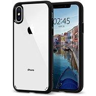 Spigen Ultra Hybrid Matte Black iPhone XS/X - Kryt na mobil
