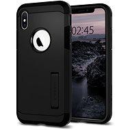 Spigen Tough Armor Black iPhone XS/X - Ochranný kryt