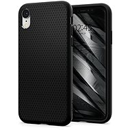Spigen Liquid Air Black iPhone XR - Kryt na mobil