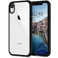 Spigen Ultra Hybrid Matte Black iPhone XR - Kryt na mobil
