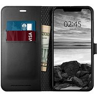 Spigen Wallet S Black iPhone XS Max - Kryt na mobil