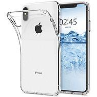 Spigen Liquid Crystal Clear iPhone XS Max - Kryt na mobil