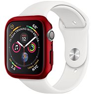 Spigen Thin Fit, red - Apple Watch 6/SE/5/4 44mm - Ochranný kryt