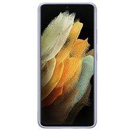 Kryt na mobil Samsung Silikónový Kryt pre Galaxy S21 Ultra Violet - Kryt na mobil