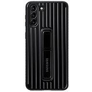Kryt na mobil Samsung Protective Standing Kryt pre Galaxy S21+ Black - Kryt na mobil