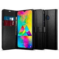 Spigen Wallet S Black Samsung Galaxy M20 - Kryt na mobil