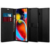 Spigen Wallet S Black Samsung Galaxy Note 10+ - Kryt na mobil