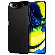 Spigen Thin Fit Black Samsung Galaxy A80 - Kryt na mobil
