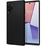 Spigen Liquid Air Black Samsung Galaxy Note 10+ - Kryt na mobil