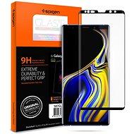 Spigen GLAS.tR Curved HD Black Samsung Galaxy Note9 - Ochranné sklo