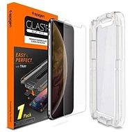 Spigen Glas.tR EZ Fit iPhone XS/X - Ochranné sklo
