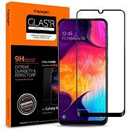 Spigen Glass FC HD Black Samsung Galaxy A50 - Ochranné sklo