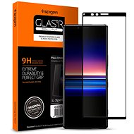 Spigen Glas tR Curved black Sony Xperia 1