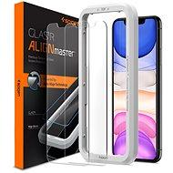 Ochranné sklo Spigen Align Glas.tR 2 pack iPhone 11/XR