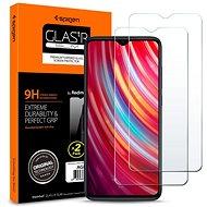 Spigen Glas.tR SLIM 2 pack Xiaomi Redmi Note 8 Pro - Ochranné sklo