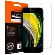 Spigen Glas.tR SLIM HD 1 Pack iPhone SE 2020/8/7 - Ochranné sklo