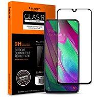 Spigen Glass FC Black Samsung Galaxy A40 - Ochranné sklo