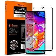 Spigen Glass FC Black Samsung Galaxy A70