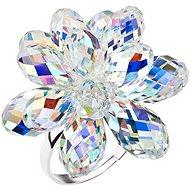 EVOLUTION GROUP 35023.2 dekorovaný kryštálmi Swarovski® (925/1000, 1,3 g) - Prsteň