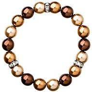 SWAROVSKI ELEMENTS Brown perlový náramok 33061.3 - Náramok