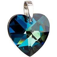 Bermuda blue prívesok zdobený kryštálmi Swarovski 34004.5 (925/1000; 10,8 g) - Prívesok