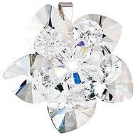 EVOLUTION GROUP Krystal prívesok dekorovaný kryštálmi Swarovski 34072.1 (925/1000; 4 g)