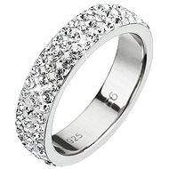 Prsteň dekorovaný kryštálmi Swarovski Krystal 35001.1 (925/1000; 2,5g) veľ. 48 - Prsteň