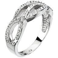 Crystal Ring Decorated Crystal Swarovski Crystal 35039.1 (925/1000, 3,9 g) Veľkosť 52 - Prsteň