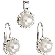 SWAROVSKI ELEMENTS Swarovski Elements Biela perla (925/1000; 4,1 g) - Darčeková sada šperkov