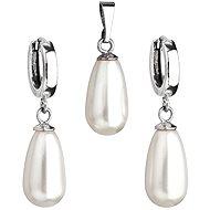 SWAROVSKI ELEMENTS Swarovski Elements Biela perla (925/1000; 6,2 g) - Darčeková sada šperkov