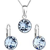 SWAROVSKI ELEMENTS Light sapphire 39140.3 (925/1000; 2,6 g) - Darčeková sada šperkov