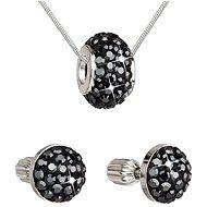 EVOLUTION GROUP Hematite súprava vyrobená s kryštálmi Swarovski® 39200.3 - Darčeková sada šperkov