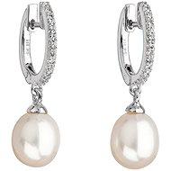 EVOLUTION GROUP 21002.1 strieborné perlové náušnice