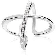 JSB Bijoux Strieborný prsteň Kríž Extramix - Prsteň