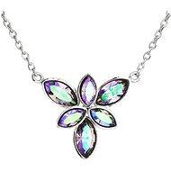 EVOLUTION GROUP 32047.5 kvietok paradise shine dekorovaný kryštálmi Swarovski® (925/1000, 3 g)