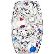 EVOLUTION GROUP 34194.9 obdĺžnik paradise shine dekorovaný kryštálmi Swarovski ® s AB efektom (925/1000, 1 g)