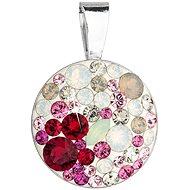 EVOLUTION GROUP 34225.3 sweet love přívěsek dekorovaný krystaly Swarovski® (925/1000, 1 g)
