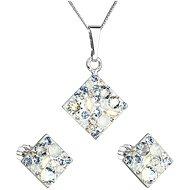 EVOLUTION GROUP 39126.3 light sapphire souprava dekorovaná krystaly Swarovski® (925/1000, 2 g) - Darčeková sada šperkov