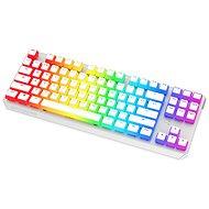 SPC Gear GK630K Onyx White Tournament Kailh Red – US - Herná klávesnica