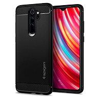 Kryt na mobil Spigen Rugged Armor Black Xiaomi Redmi Note 8 Pro - Kryt na mobil