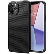 Spigen Liquid Air Black iPhone 12/iPhone 12 Pro - Kryt na mobil