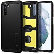 Kryt na mobil Spigen Tough Armor Black Samsung Galaxy S21+ - Kryt na mobil